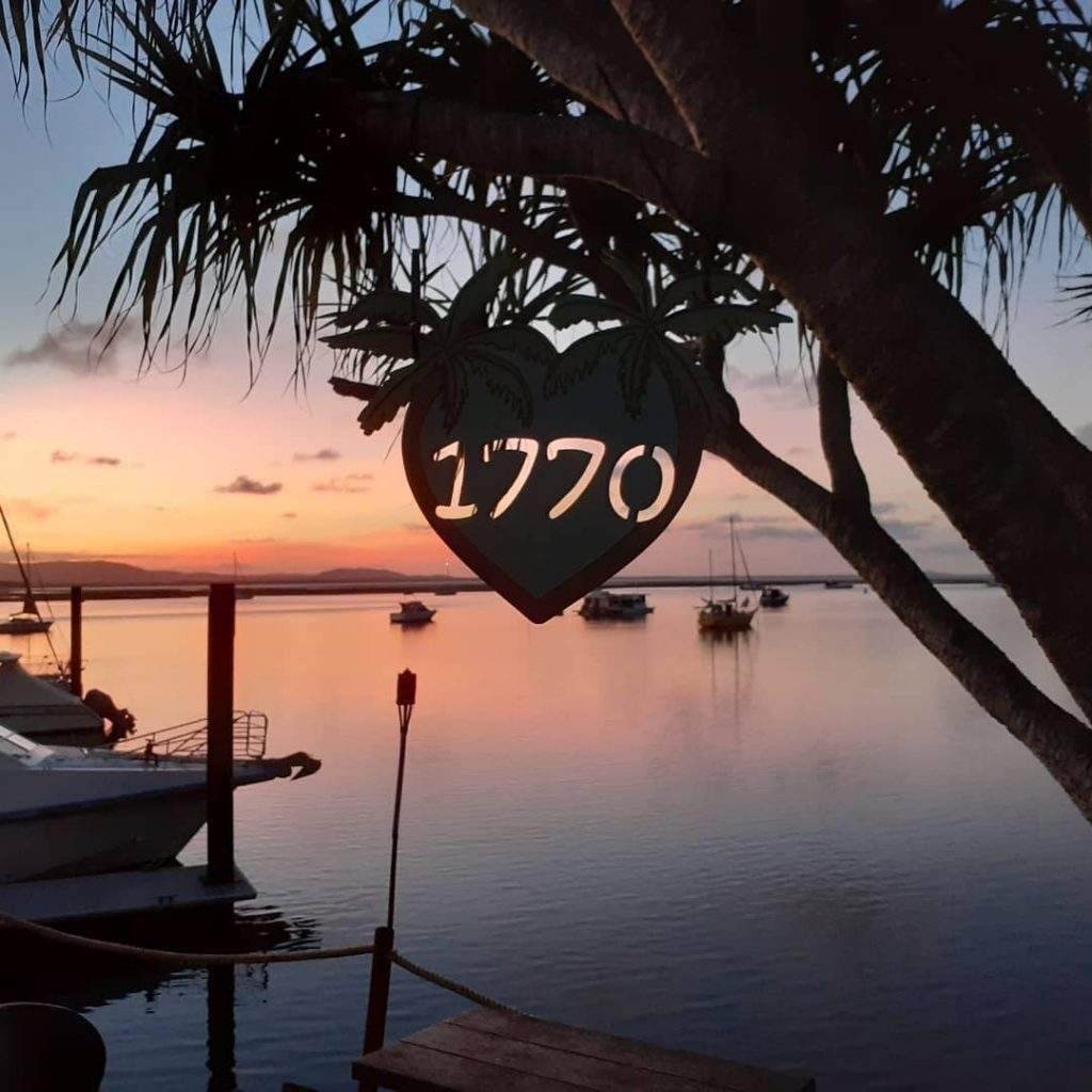 1770 Shuttle Sunset At 1770